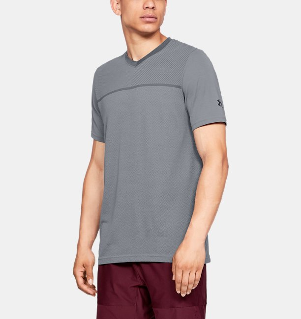 Men's UA Vanish Seamless Short Sleeve V-Neck