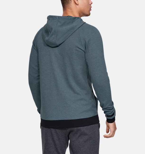 Mens UA Unstoppable Double Knit Full Zip