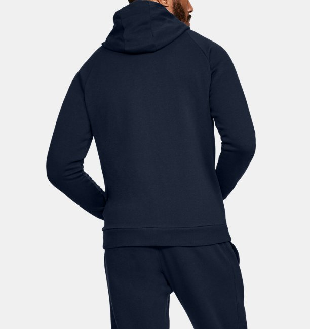 Felpa UA Rival Fleece Full-Zip da uomo