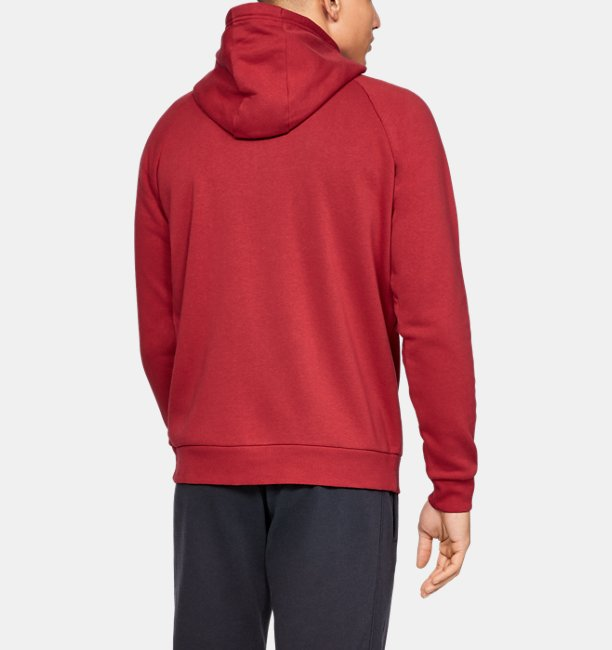 Mens UA Rival Fleece Full-Zip
