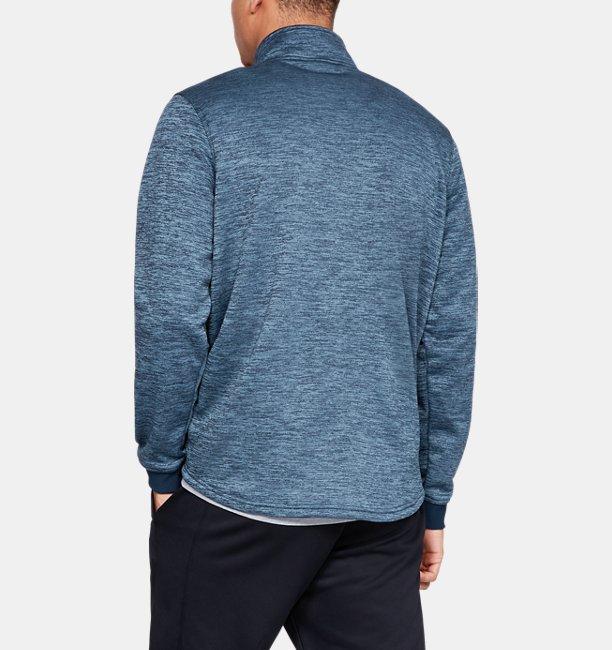 Armour Fleece® met halve rits voor heren