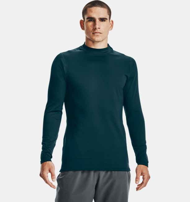 Mens ColdGear® Armour Fitted Mock