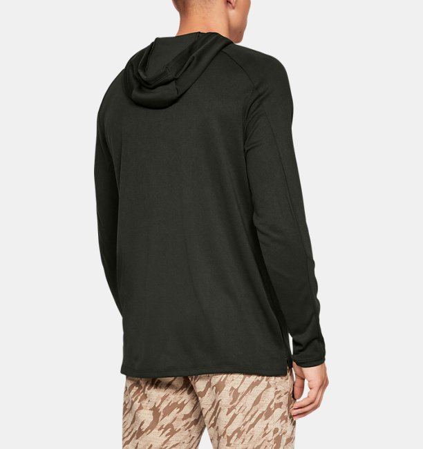 Mens UA Lighter Longer Hoodie