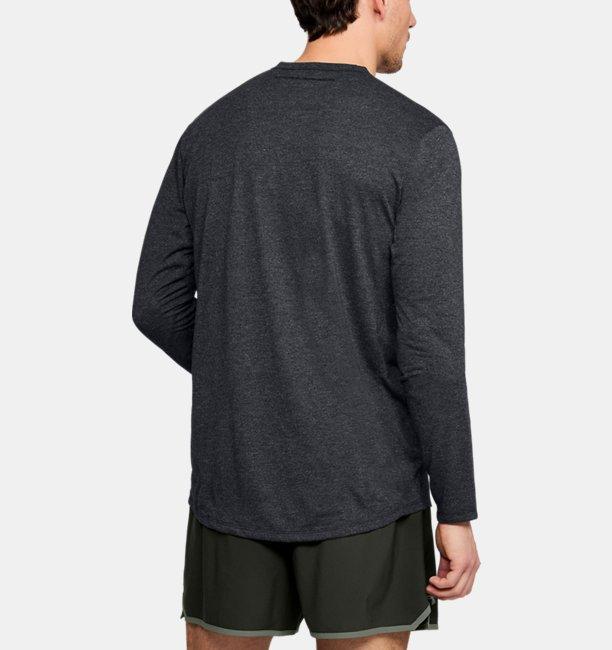 Mens UA Microthread Long Sleeve