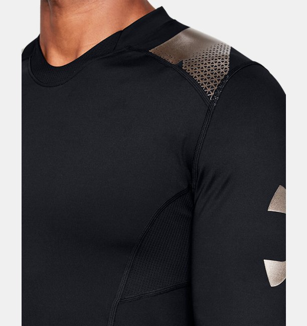 Mens UA Perpetual Powerprint ½ Sleeve