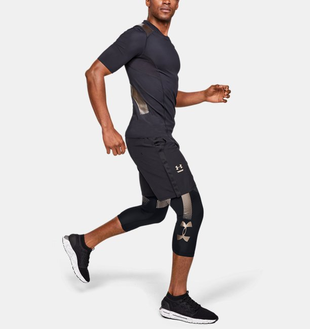 Mens UA Perpetual Powerprint ½ Leggings