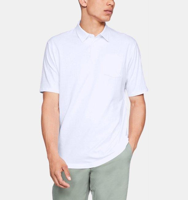 Playera Polo Charged Cotton® Scramble para Hombre