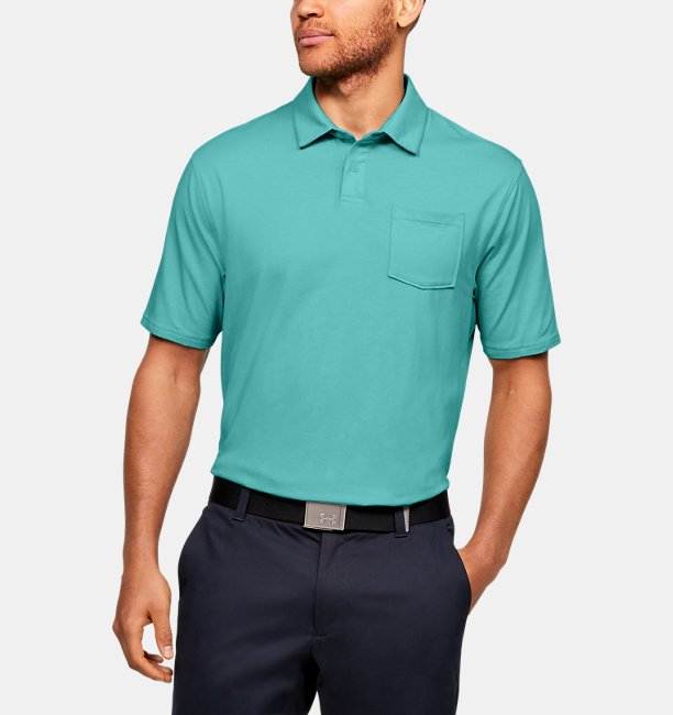 Mens Charged Cotton® Scramble Polo