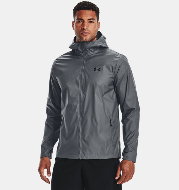 Mens UA Forefront Rain Jacket