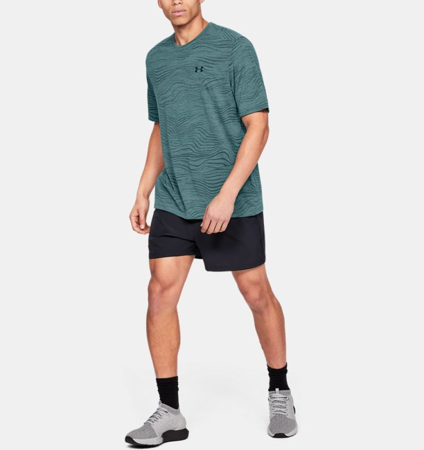 Mens UA Siro Print Short Sleeve