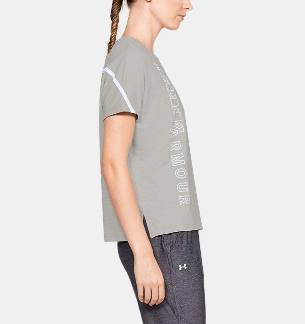 Womens UA Lighter Longer Graphic T-Shirt