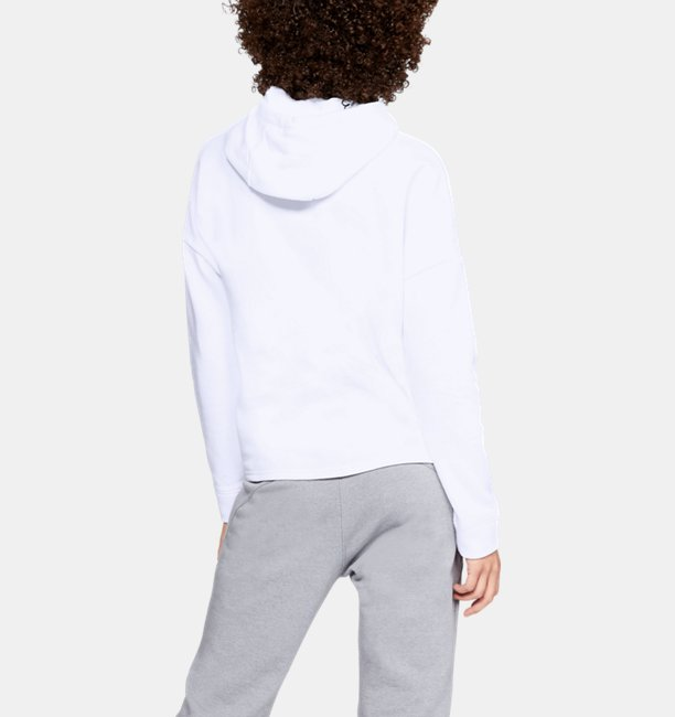 Sudadera con capucha UA Rival Fleece para mujer