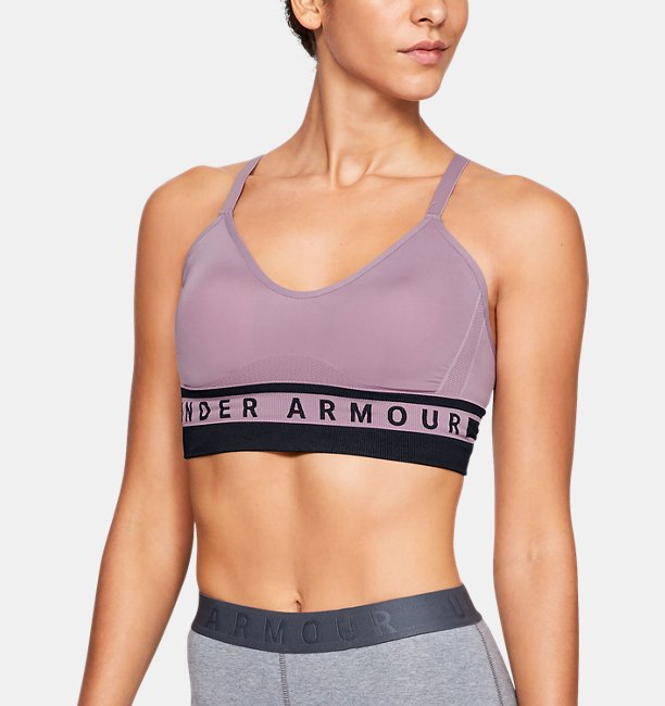 Womens UA Seamless Longline Sports Bra