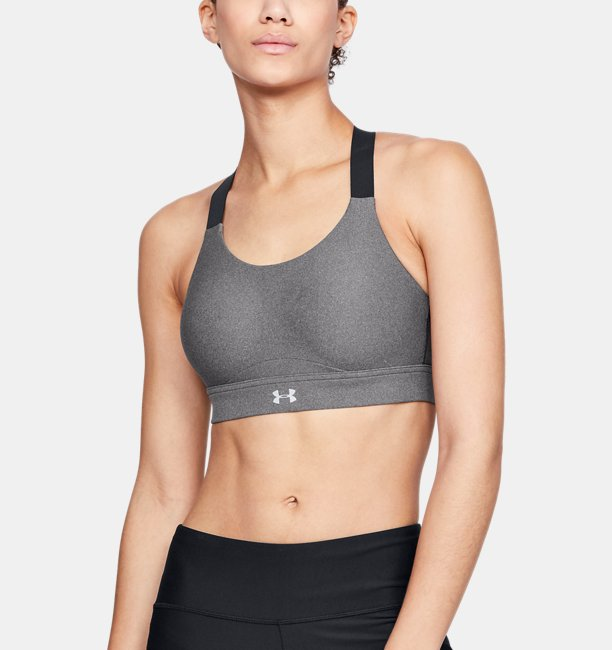 Womens UA Vanish High Heather Sports Bra