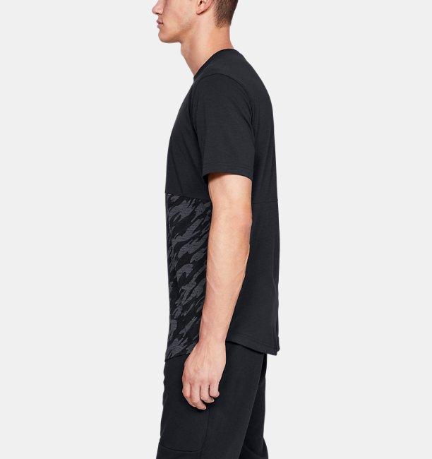 Mens UA Sportstyle Camo Block T-Shirt