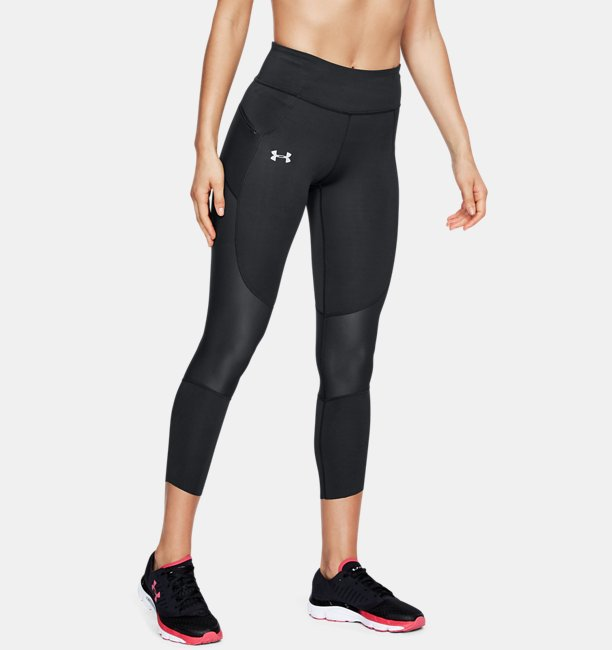Womens UA Speedpocket Run Crop