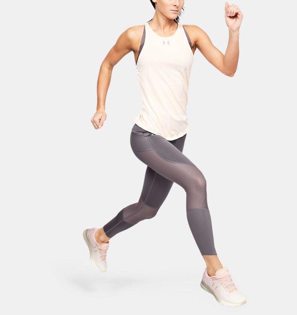 Womens UA Speedpocket Run Crop