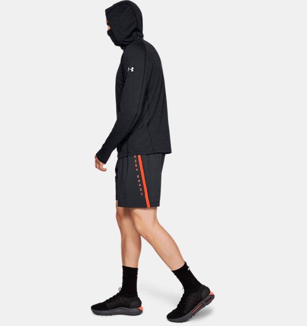 Mens UA Microthread Swyft Facemask Hoodie