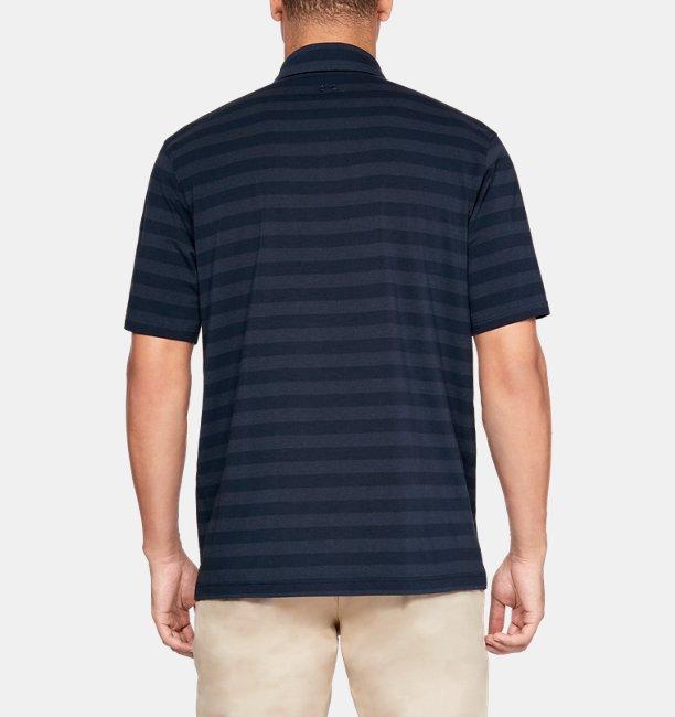 Playera Polo Charged Cotton® Scramble Stripe para Hombre