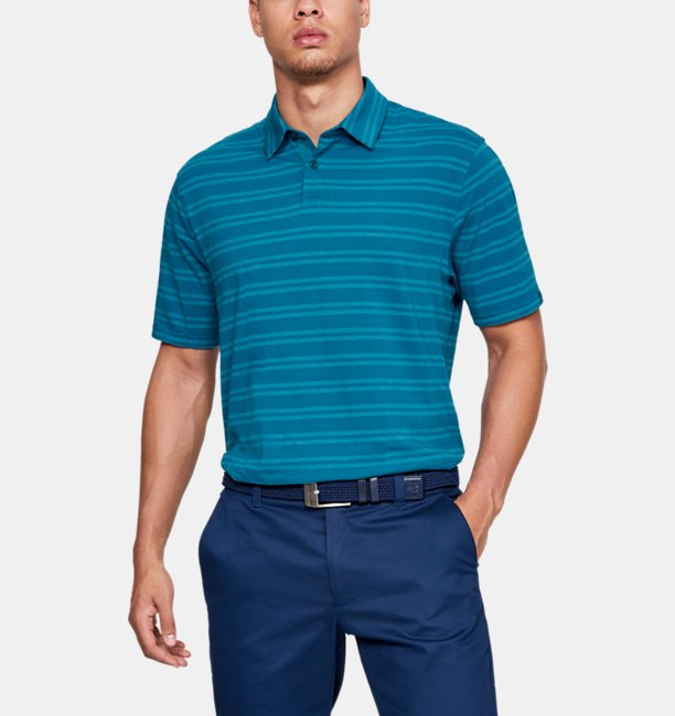 Polo Charged Cotton® Scramble Stripe pour homme