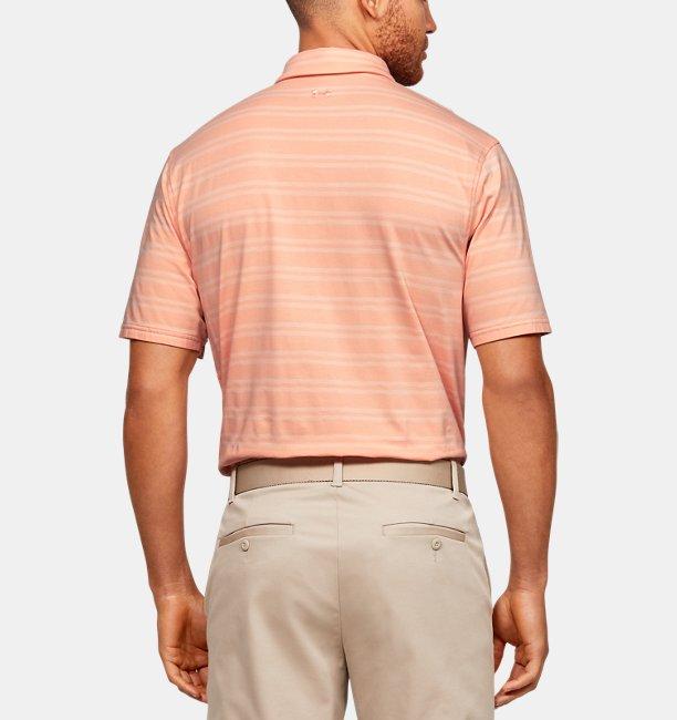 Mens UA Charged Cotton® Scramble Stripe Polo
