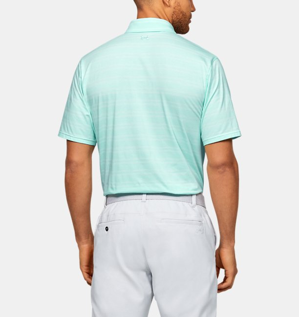 Mens UA Charged Cotton® Scramble Stripe Polo