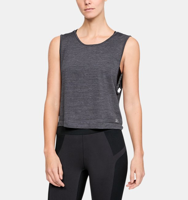 Womens UA Vanish Seamless  Spacedye Tank