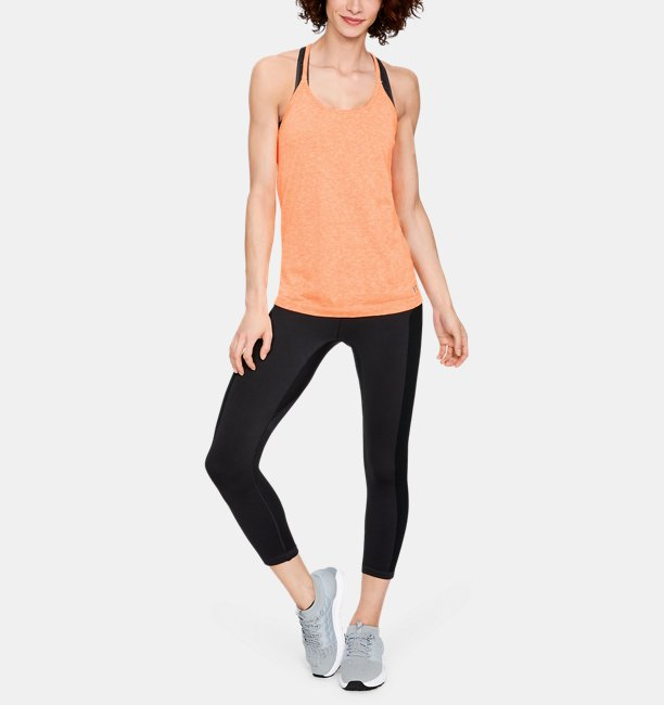 Womens UA Vanish Seamless Spacedye Strappy Tank