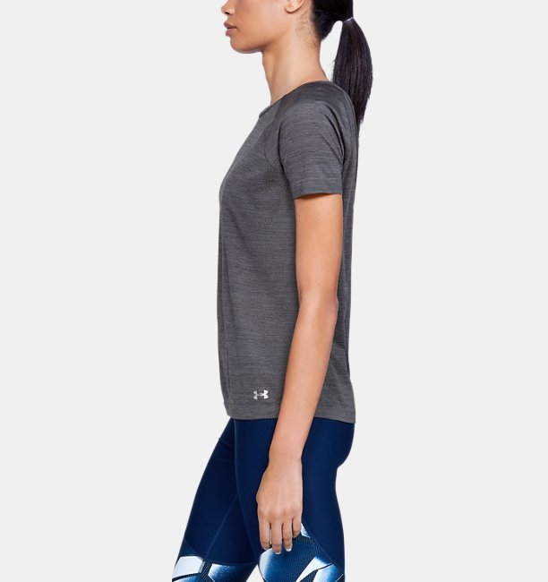 Womens UA Vanish Seamless  Spacedye Short Sleeve