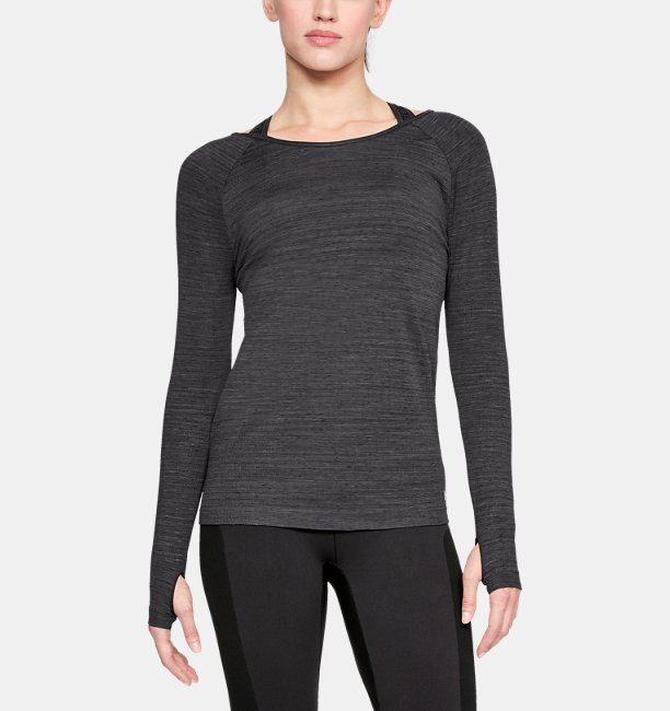 Womens UA Vanish Seamless Spacedye Long Sleeve