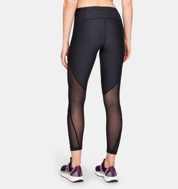 Leggings UA Vanish Pleated Crop para Mujer
