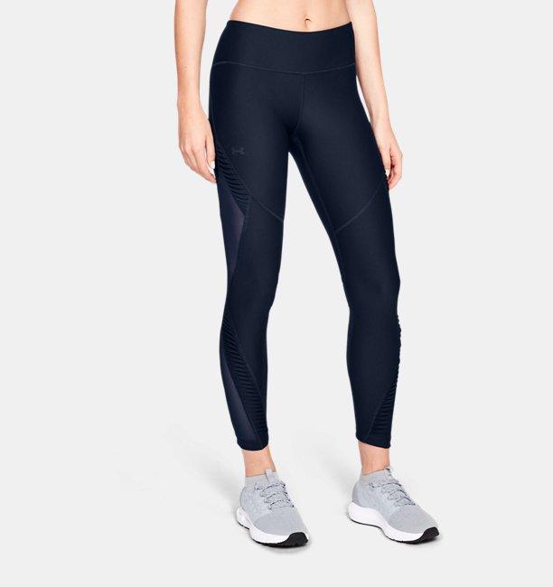 Womens UA Vanish Pleated Leggings