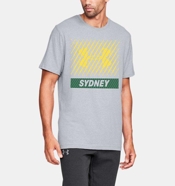 Mens UA Sydney Big Logo Short Sleeve T-Shirt