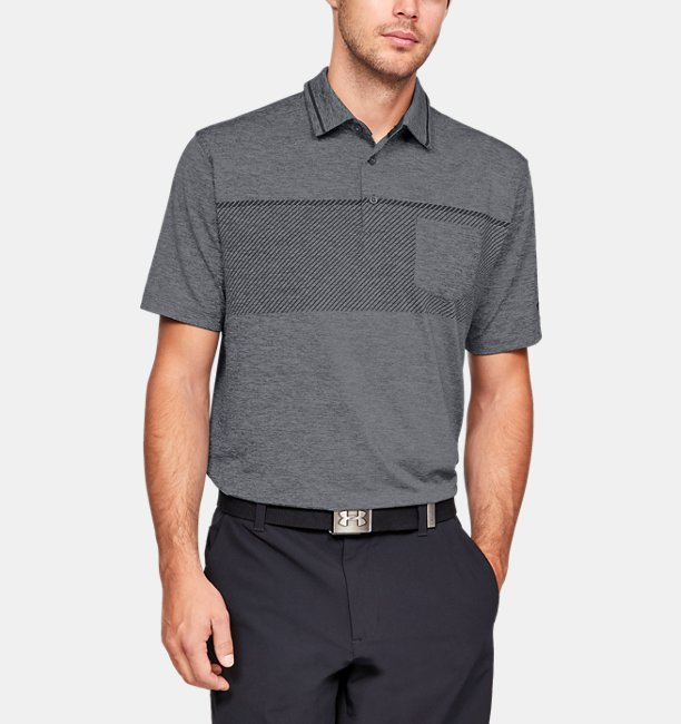 Camiseta Polo UA Playoff Pocket Masculina