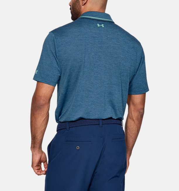 Camiseta Polo UA Playoff Pocket Masculina