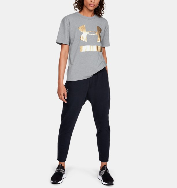 Womens UA Big Logo Girlfriend Crew