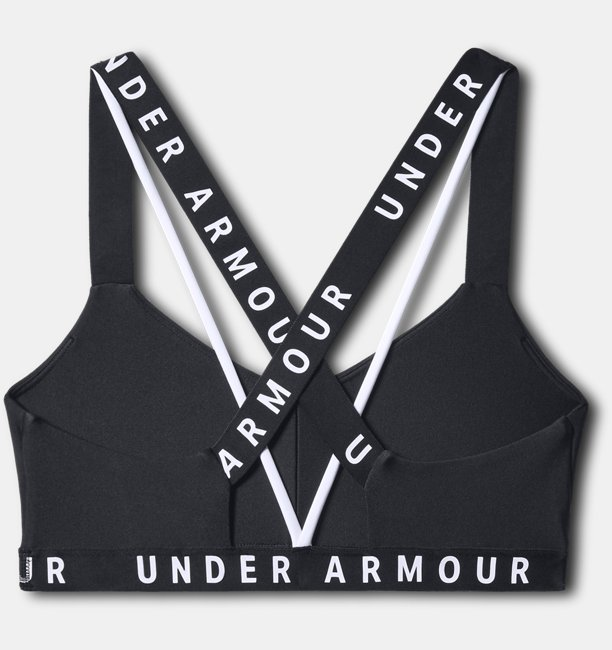 Top Esportivo Feminino Under Armour Wordmark Strappy Sportlette