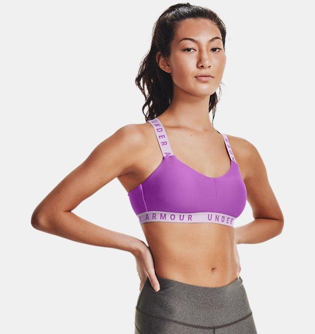Womens UA Wordmark Strappy Sports Bralette Bra