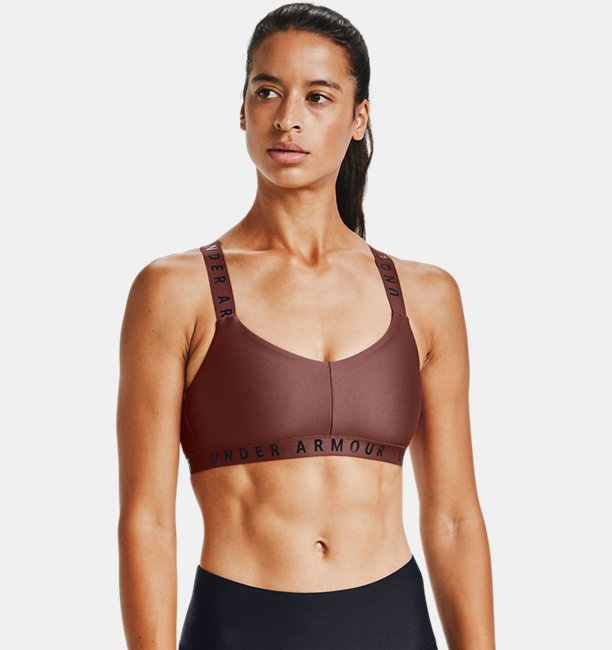 Womens UA Wordmark Strappy Sportlette