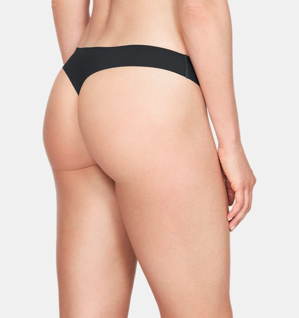 Womens UA Pure Stretch Thong Underwear 3-Pack
