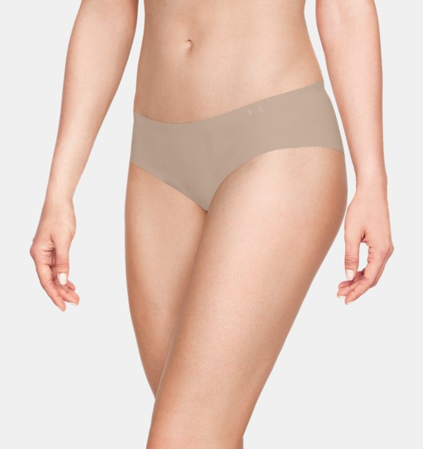 Womens UA Pure Stretch Hipster Underwear 3-Pack