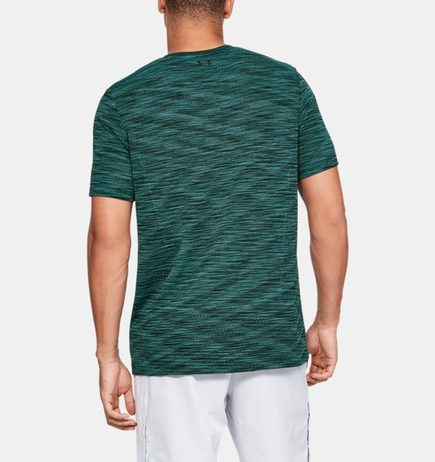 Camiseta de Manga Curta UA Vanish Seamless Masculina