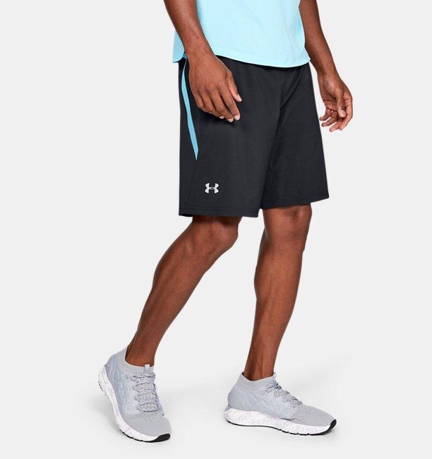 Mens UA Speedpocket Run 9 Shorts
