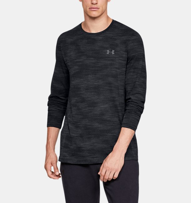 Kaus Lengan Panjang UA Vanish Seamless Camo untuk Pria  d3810ef583