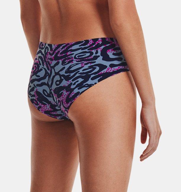 Womens UA Pure Stretch Hipster Underwear Print 3-Pack