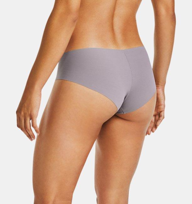 Pantaleta UA Pure Stretch Print para Mujer (Paquete de3)