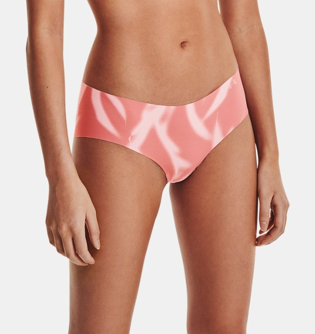 Womens UA Pure Stretch Hipster 3-Pack Printed