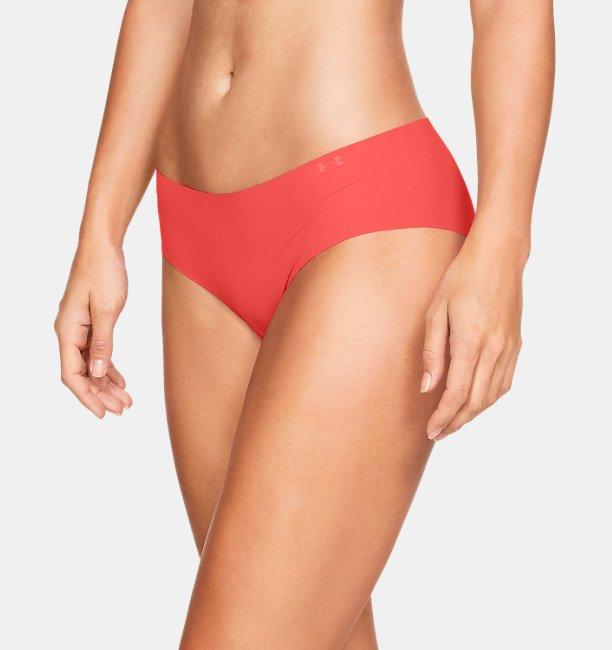 Ropa Interior Estampada UA Pure Stretch Hipster para Mujer (Paquete de 3)