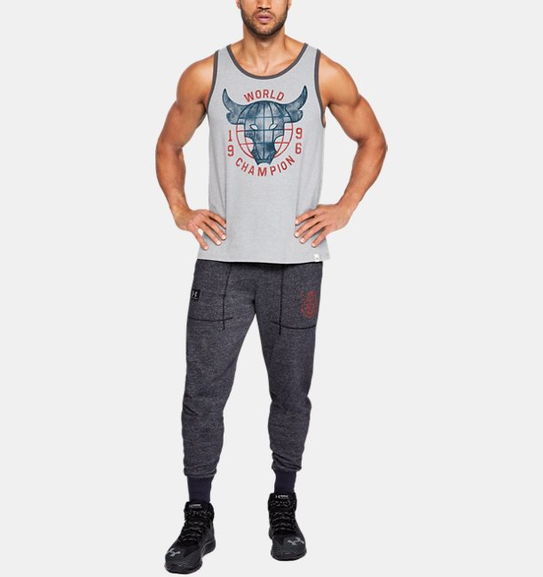 Mens Project Rock 96 World Champion Tank