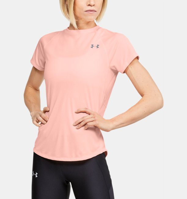 Womens UA Speed Stride Short Sleeve